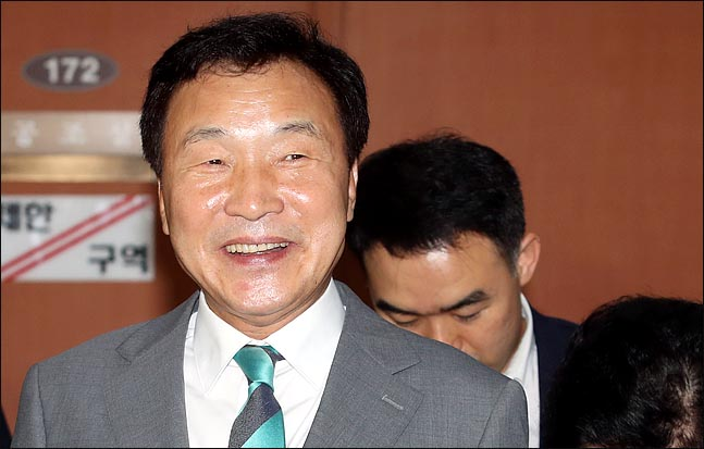 바른미래당 당대표 후보로 나선 손학규 상임고문. 1993년 국회의원에 당선되며, 25년째 정치를 하고 있다. ⓒ데일리안 박항구 기자