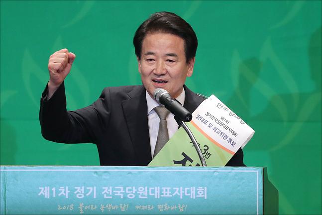 정동영 민주평화당 대표는 10일 광주 국립 5·18묘지와 기아자동차 광주 공장을 방문했다.(자료사진) ⓒ데일리안 홍금표 기자
