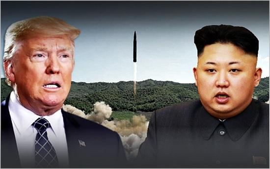 ⓒ도널드 트럼프 미국대통령(왼쪽)과 김정은 북한 국무위원장. ⓒ데일리안