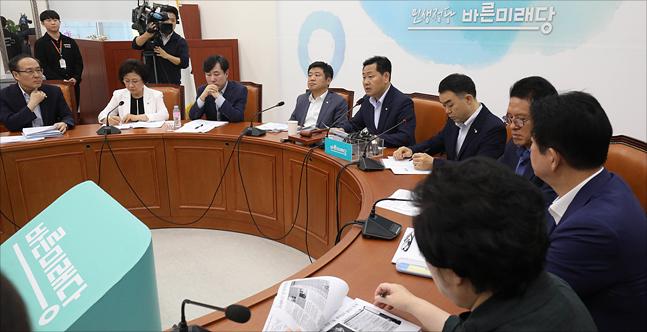 31일 오전 국회에서 바른미래당 원내대책회의가 열리고 있다. (자료사진)ⓒ데일리안 홍금표 기자