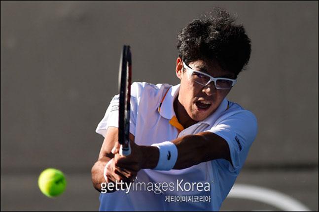 한국 테니스의 간판 정현. ⓒ 게티이미지