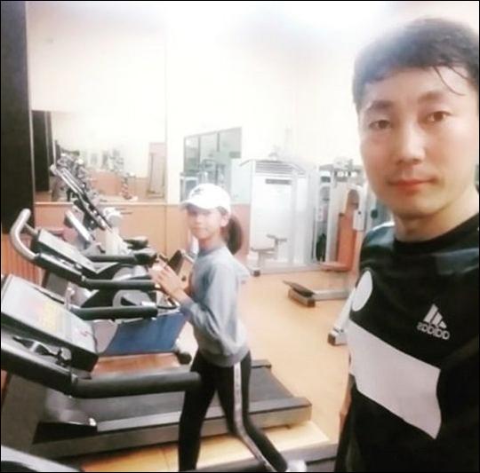 박잎선 전 남편 송종국이 근황을 전했다. ⓒ 송종국 SNS