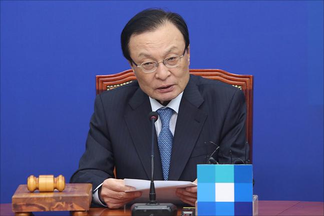 이해찬 더불어민주당 대표(자료사진)ⓒ데일리안 박항구 기자