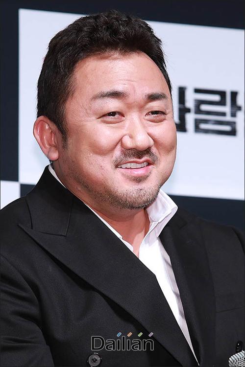 배우 마동석이 영화