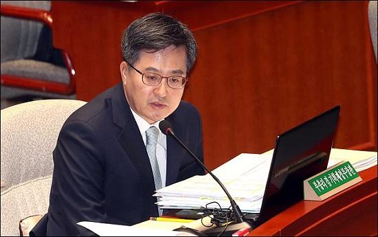 김동연 전 경제부총리 겸 기획재정부 장관(자료사진) ⓒ데일리안 박항구 기자