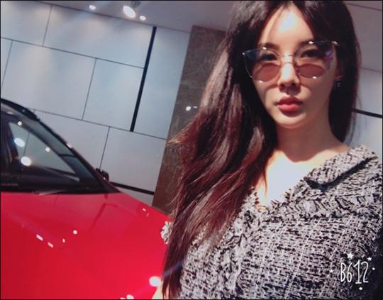배우 장미인애가 스폰서 제안에 격분했다. ⓒ 장미인애 인스타그램
