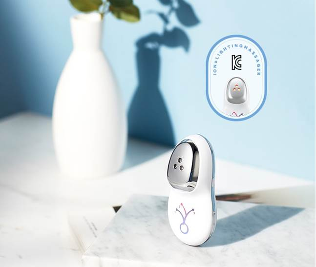 에이블씨엔씨 화장품 브랜드 미샤는 '갈바닉 이온 & LED 마사지기'를 출시했다. ⓒ에이블씨엔씨
