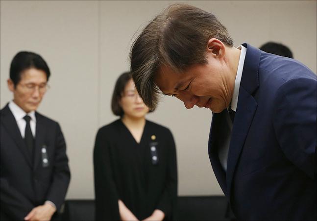 조국 청와대 민정수석(자료사진). ⓒ국회 사진공동취재단