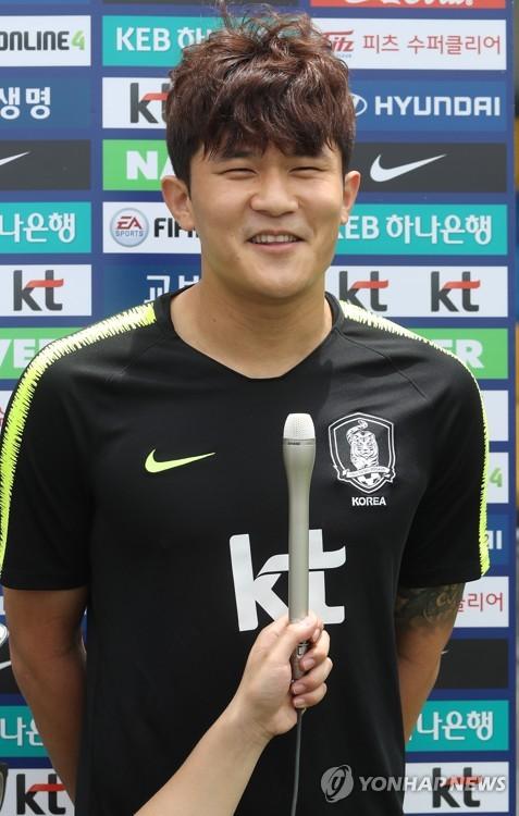 중국행이 임박한 김민재. ⓒ 연합뉴스
