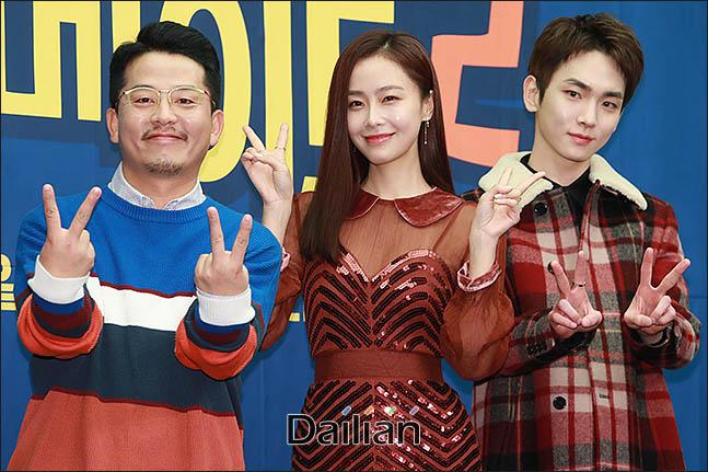 6일 오후 서울 마포구 스탠포드 호텔에서 열린  tvN 예늘 프로그램