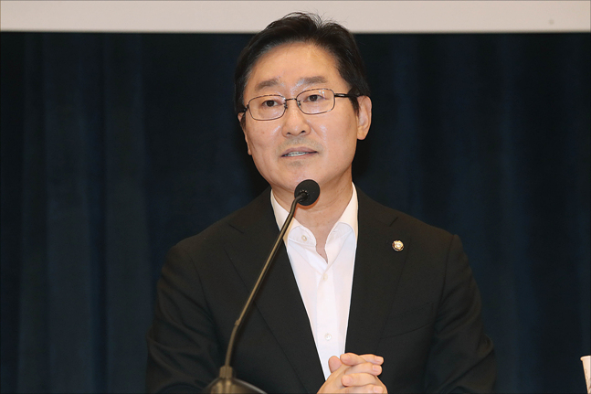 더불어민주당 내에서 박범계 의원(사진)의 당무감사원장직에 대한 의견이 분분하다. ⓒ데일리안 홍금표 기자