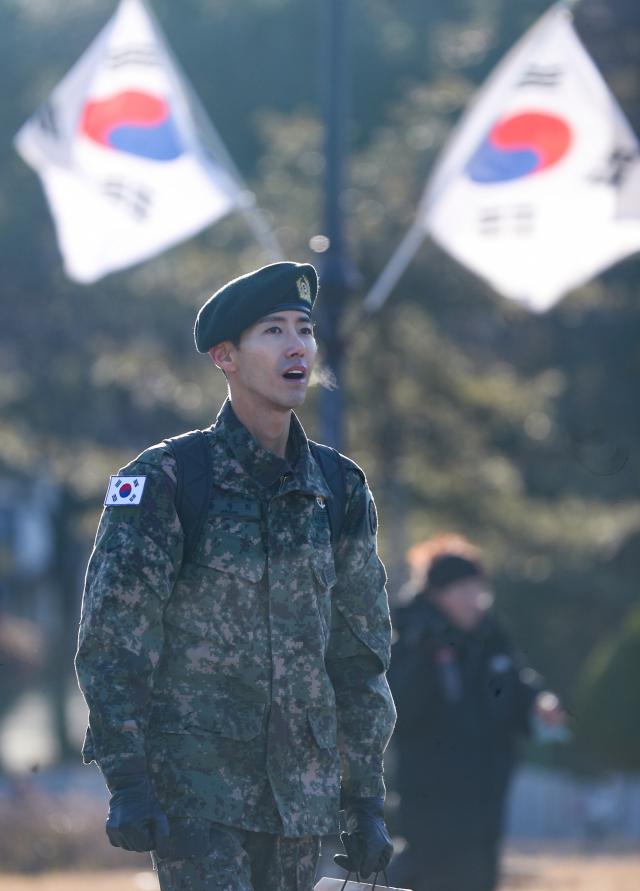 그룹 제국의 아이들 멤버 출신 광희(황광희)가 군 복무를 마치고 전역했다. ⓒ 연합뉴스