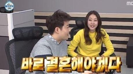 전현무 한혜진 커플과 관련해 열애설 뒷이야기가 화제다. ⓒ MBC
