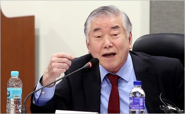 문정인 대통령 외교안보특별보좌관 ⓒ데일리안 박항구 기자