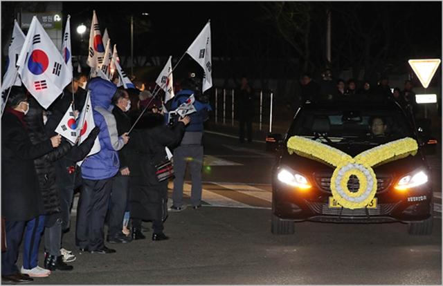 11일 오전 서울 강남구 삼성서울병원 장례식장에서 이재수 전 기무사령관의 발인이 엄수되고 있다. ⓒ데일리안 홍금표 기자