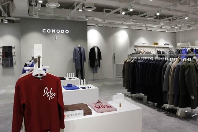 코모도, 스타필드 코엑스몰에 신규 매장 오픈. ⓒ신세계톰보이