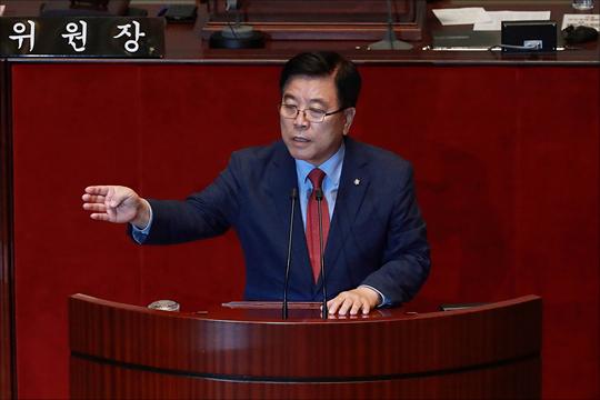 김광림 자유한국당 의원(사진)이 김동연 전 경제부총리의