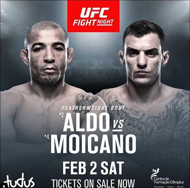[UFC]알도 VS 모이카노 ⓒ UFC