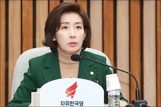 나경원 자유한국당 원내대표(자료사진) ⓒ데일리안 홍금표 기자
