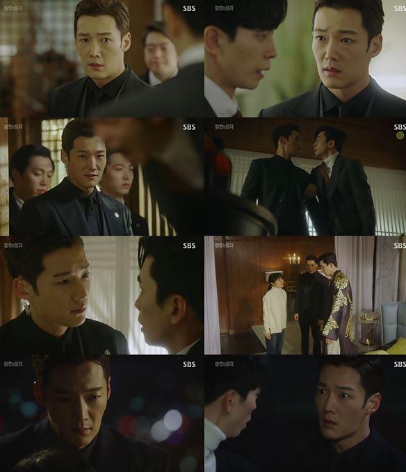 SBS '황후의 품격' 최진혁이 나왕식의 이름으로 복수의 칼을 던지며, 황제 신성록을 점점 무너뜨리는 모습으로 긴장감을 폭등시켰다. ⓒ SBS
