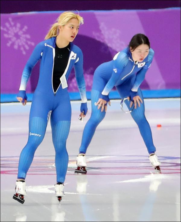 2018 평창 동계올림픽에서 '왕따 주행' 논란에 시달렸던 스피드스케이팅 선수 김보름이 해명에 나섰다. ⓒ 연합뉴스