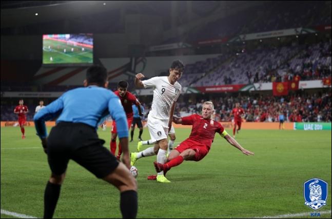 대표팀의 경기력 부진이 2경기 연속 이어지고 있다. ⓒ 대한축구협회