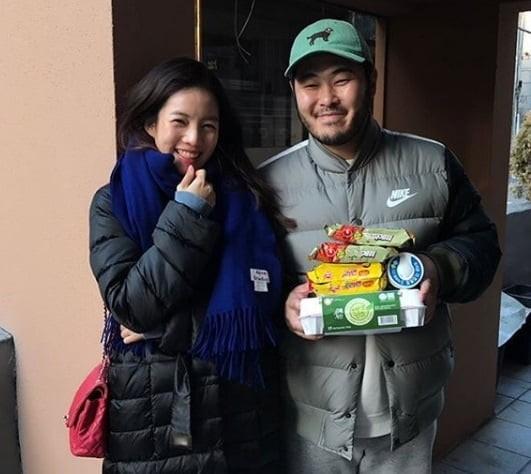 배우 김기방의 아내가 큰 관심을 모으고 있다. ⓒ 김기방 SNS