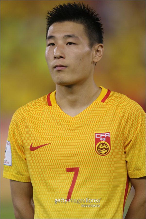 중국 축구대표팀 에이스 우레이. ⓒ 게티이미지