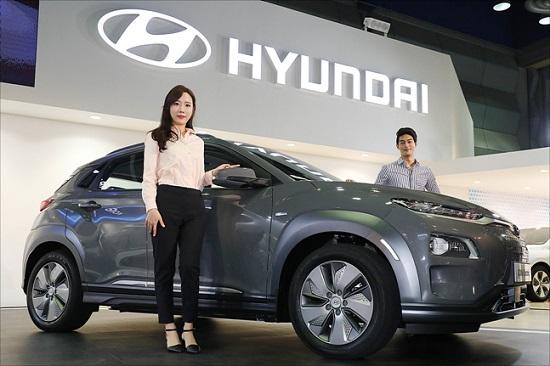 현대자동차가 2018년 4월 12일 서울 강남구 코엑스에서 열린