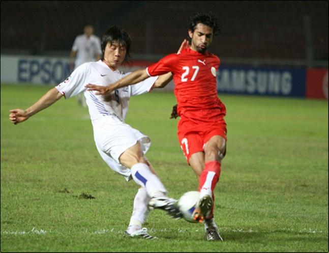 2007 아시안컵에서 한국축구는 바레인에 1-2 역전패했다. ⓒ 연합뉴스