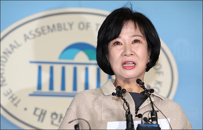 목포 부동산 투기 의혹을 받고 있는 손혜원 무소속 의원ⓒ데일리안 박항구 기자
