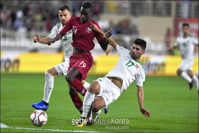 아시안컵 득점왕이 유력한 카타르 알모에즈 알리. ⓒ 게티이미지