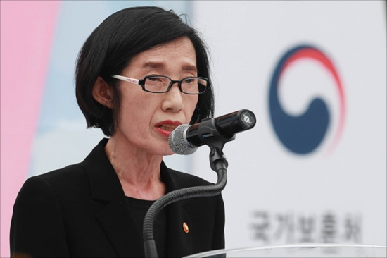 피우진 국가보훈처장. ⓒ데일리안 박항구 기자
