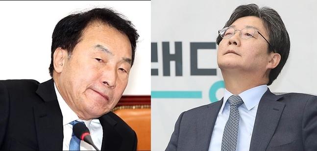 (왼쪽)손학규 바른미래당 대표, (오른쪽)유승민 바른미래당 전 대표.(자료사진)ⓒ데일리안 박항구·홍금표 기자