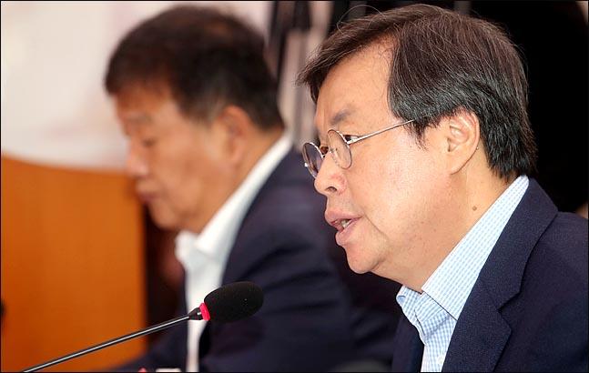 도종환 문화체육관광부 장관. ⓒ 데일리안 박항구 기자