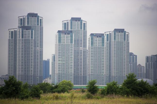 최근 서울과 경기도, 인천 등 수도권 정비사업들이 사업 진행에 열을 올리고 있다. 사진은 경기도의 한 아파트 단지 모습.(자료사진) ⓒ게티이미지뱅크