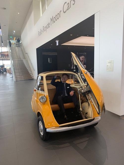 장성택 BMW 드라이빙 센터 상무가 지난 14일 인천 BMW드라이빙 센터에서 클래식카