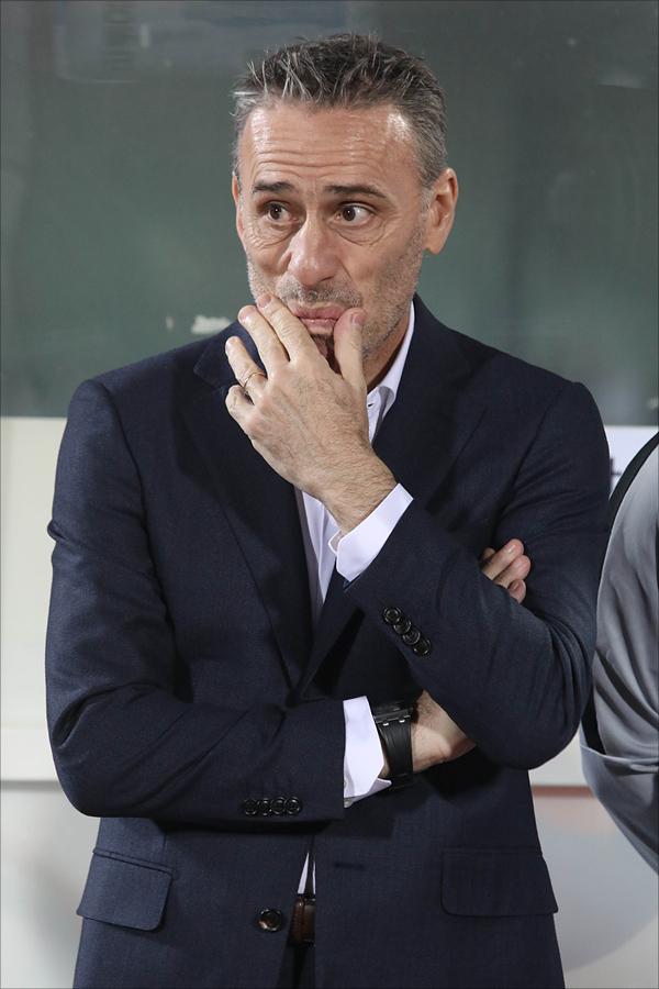벤투 감독은 최근 이강인의 프리메라리가 경기를 직접 보기 위해 현장을 찾았지만 소득이 없었다. ⓒ 데일리안 홍금표 기자