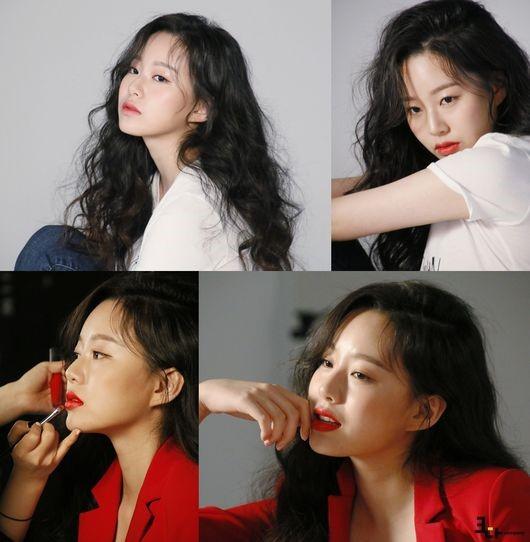 배우 박유나가 화보 비하인트 컷을 공개했다.ⓒ크다컴퍼니