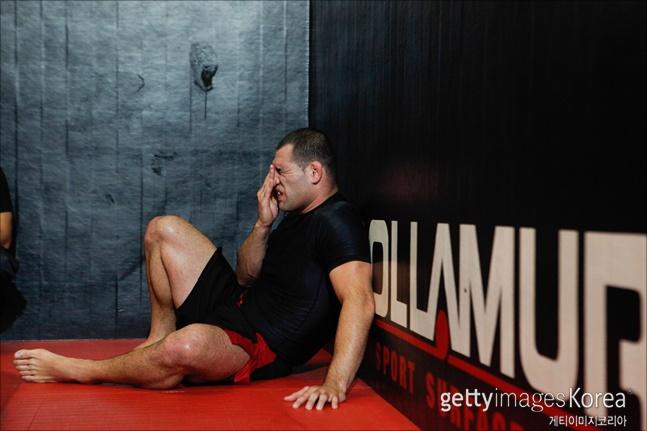 [UFC]케인 벨라스케즈가 은가누를 상대로 1라운드 26초 만에 무릎을 꿇었다(자료사진). ⓒ 게티이미지