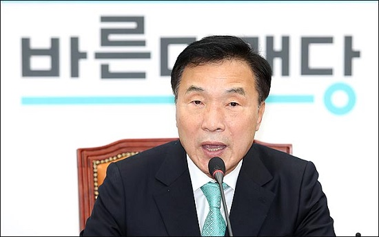 손학규 바른미래당 대표가 12일 오전 국회에서 창당 1주년 기자회견을 하고 있다.(자료사진)ⓒ데일리안 박항구 기자