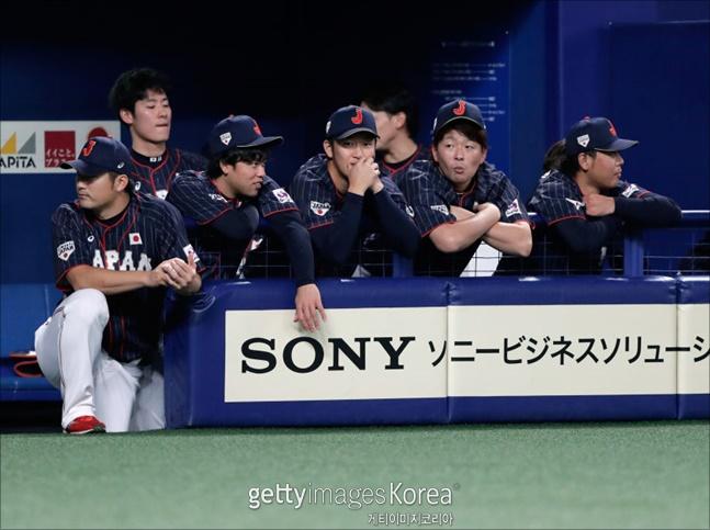 일본 야구대표팀. ⓒ 게티이미지