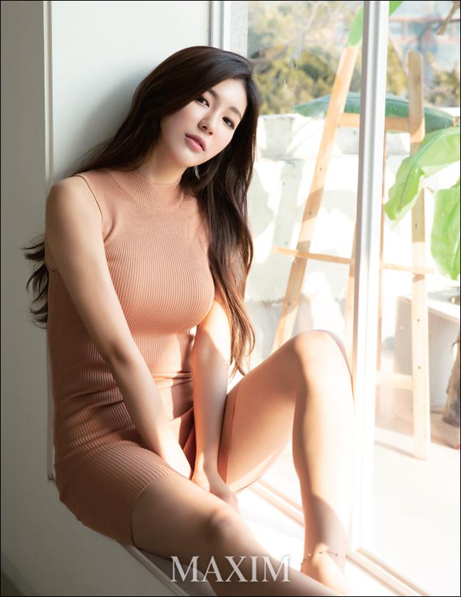 김연정 치어리더. ⓒ 맥심