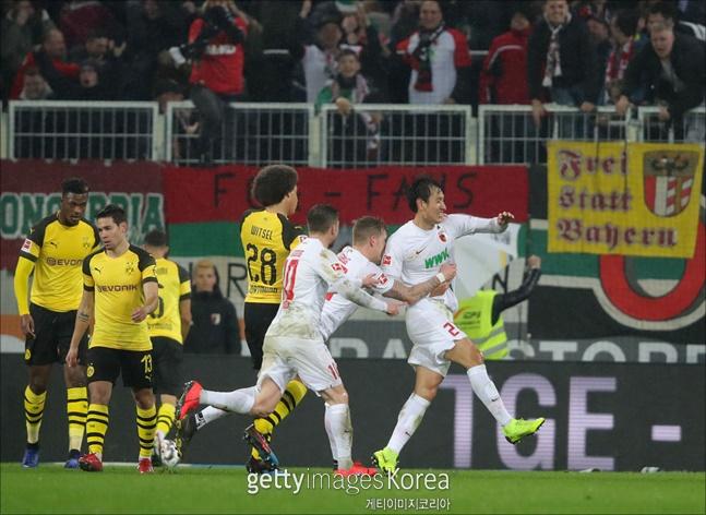 지동원이 바이에른 뮌헨전에 이어 도르트문트전에서도 골을 넣었다. ⓒ 게티이미지