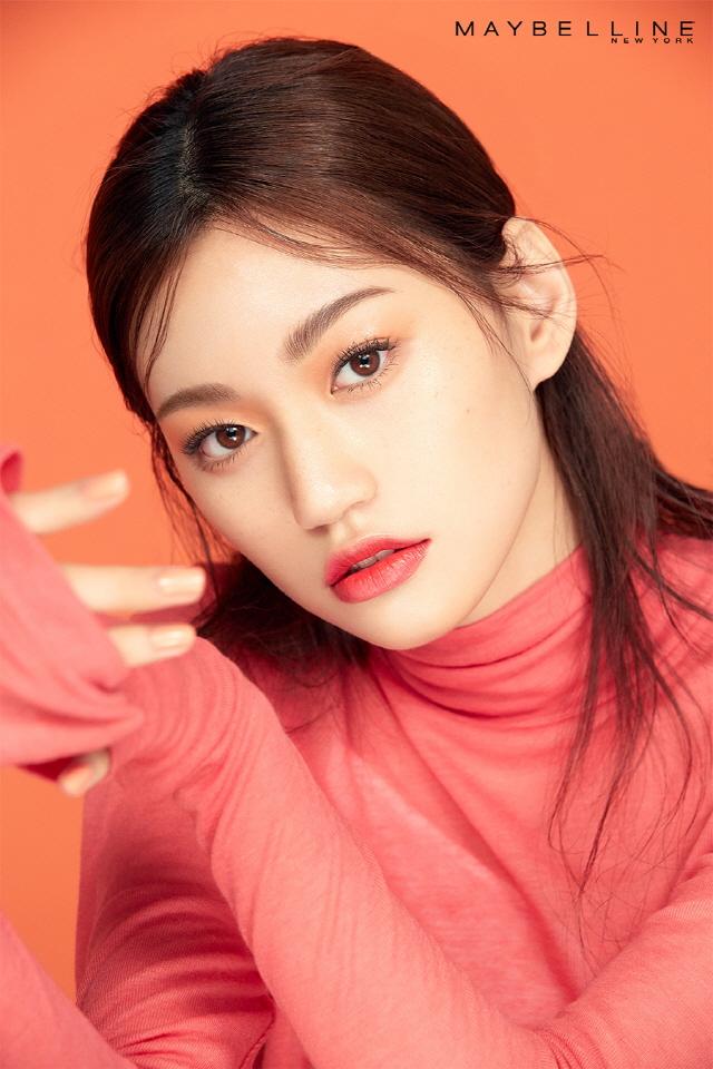 메이블린 뉴욕 모델 김도연 ⓒ메이블린 뉴욕