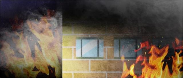 14일 오후 5시 50분께 대전시 서구 한 상가 1층에서 불이 났다. ⓒ연합뉴스