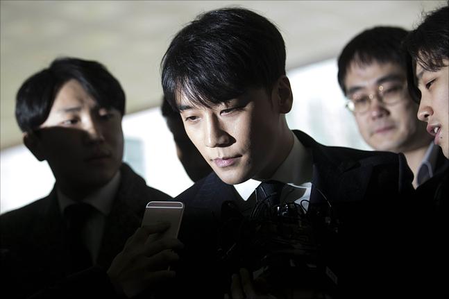 빅뱅 전 멤버 승리가 이번엔 원정 성매매 의혹에 휩싸였다. ⓒ 데일리안 홍금표 기자