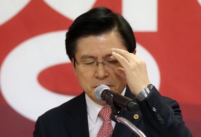 황교안 자유한국당 대표. ⓒ 연합뉴스