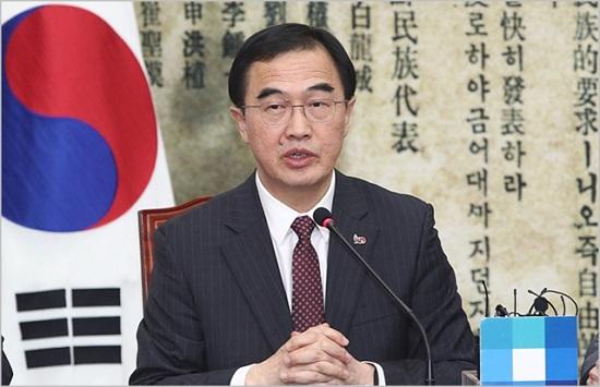 조명균 통일부 장관  ⓒ데일리안 홍금표 기자