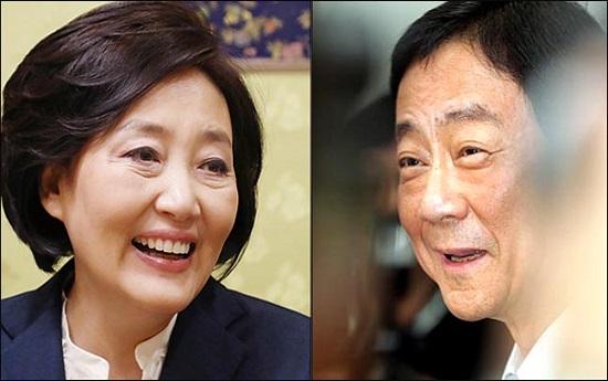중소벤처기업부와 행정안전부 장관으로 내정된 더불어민주당 박영선, 진영 의원.(자료사진) ⓒ데일리안